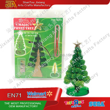 Beauty Magic Christmas Paper Green Tree