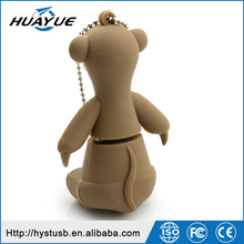 Ice-age Animal Cartoon Silicone USB Pendrive /Wristband USB 3.0 Flash Drives 4gb 8gb 16gb