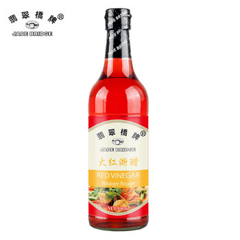 Chinese Pearl River Brand Red Rice Vinegar 500ml