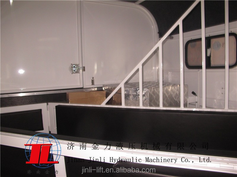 2HAL-D 2 horse trailer angle load deluxe version