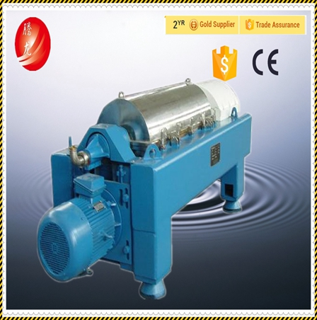 two phase remove solid oil separater