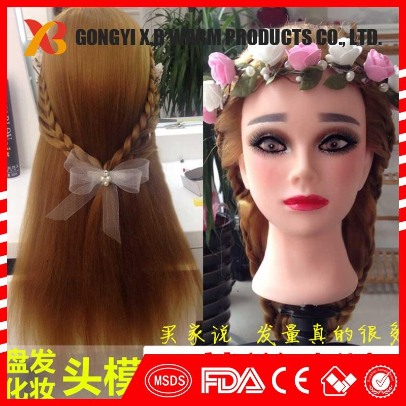 female mannequin mannequin training head for hairdressers