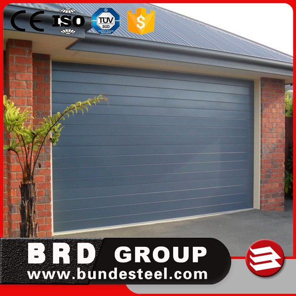 remote control sectional folding garage door with door opener