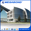 Megabond exterior wall panel building,wall cladding system aluminum solid panel