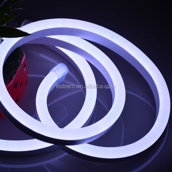 Outdoor led neon lighting for building project