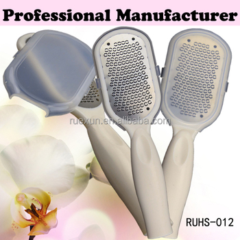 stainless steel foot callus remover pedicure tool