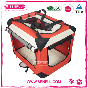 Portable soft dog crate Pet Dog Products Pet Supply