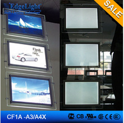 crystal light box led series chain hanging with steel wire