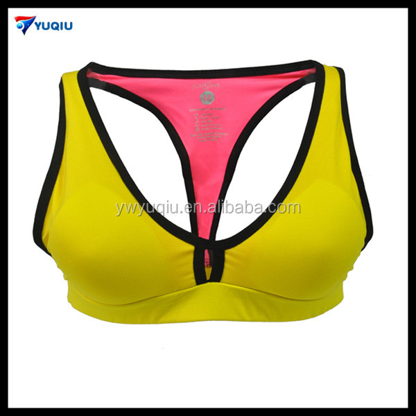 Hot Seamless Sports Bra Quick Drying Women Underwear with Support Stroppy Back Sexy Yoga Wear
