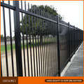 Pvc coated ornamental wrought iron fence designs