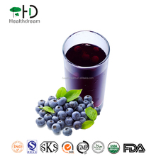 100% natrual High Quality Blue honeysuckle fruit Concentrate , Lonicera Juice Concentrate With Natural Wild