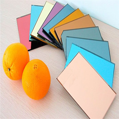 Alibaba Golden Supplier hot sales bronze/grey/pink/blue/gold colored mirror glass price