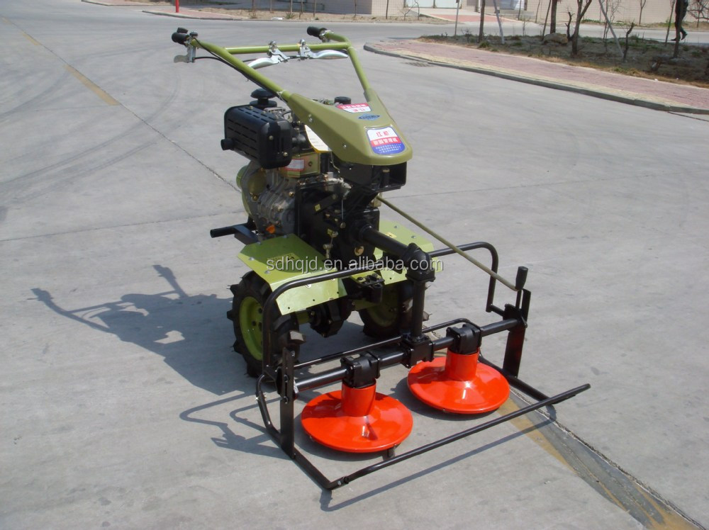 factory supply ukraine russia alfalfa rotary disc mower for walking tractor