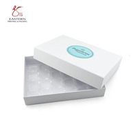 Custom Cardboard Paper Candy Storage Gift Luxury Chocolate Box Packaging with plastic divider
