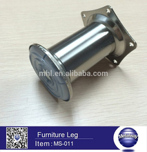 Decorative short sofa leg long type metal legs for sofa diameter 30mm cabinet leg