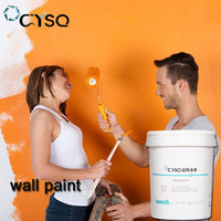 Wholesale best brand odorless multi color water based acrylic house interior wall paint