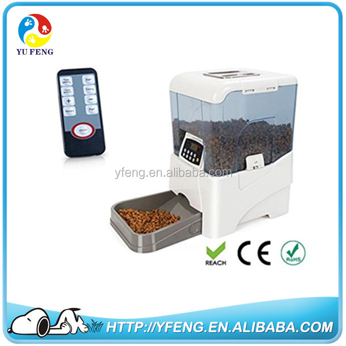 Hot sell automatic dog feeders dog drinking animal feeder pet products