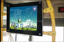 24 inch LED coach train metro bus LED advertising video loop display rear mount monitor