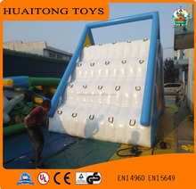 Giant inflatable floating water park with water slide/ good quality inflatable water slide for adults