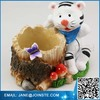 Resin White Tiger Figurine Animal Home