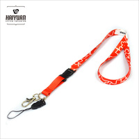 custom sublimation airline lanyards with cellphone holder no minimum order