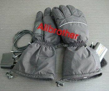 Ski sports neoprene Waterproof battery heated gloves ski sports heated gloves