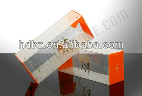 2013 square clear pet pvc cylinder tube box