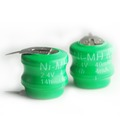 40mAh 3.6v Rechargeable Ni-Mh Button Cell