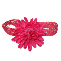 Fancy baby girls hair accessories stretch headbands