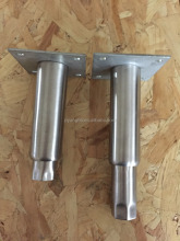 Height metal table leg adjuster for equipments