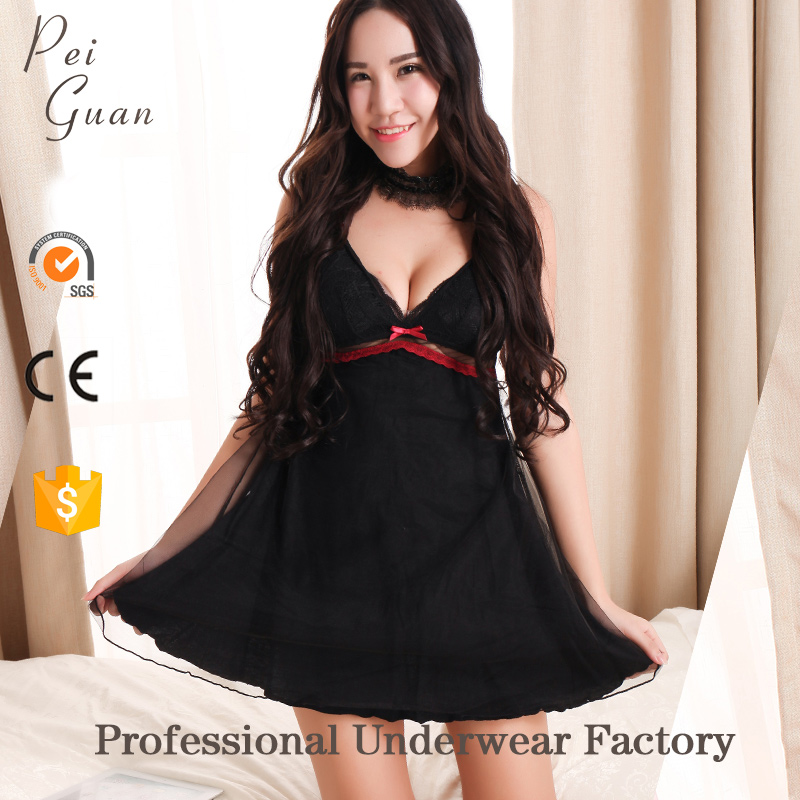 2017 peiguan fashion western nightwear girls images sex sexy night sleeping dress for women