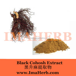 Factory supply black cohosh extract triterpene glycosides
