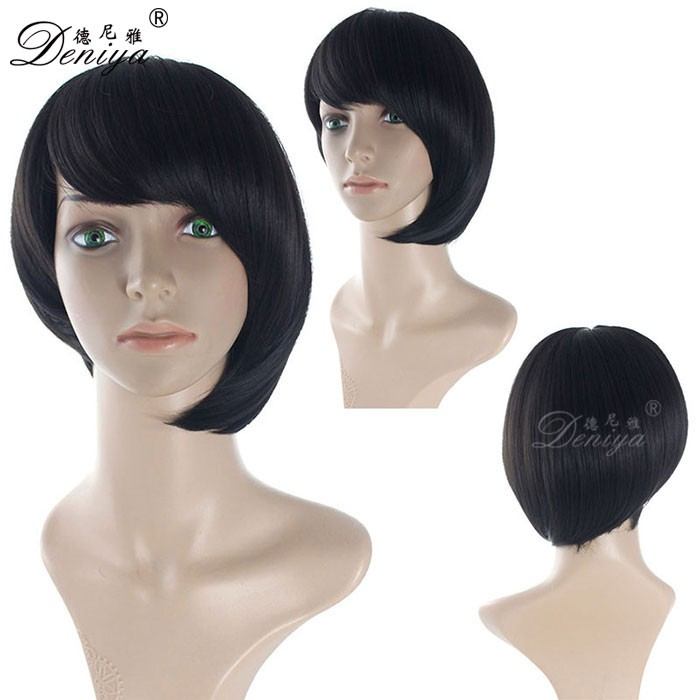 High density thin skin top hair wig for asian women