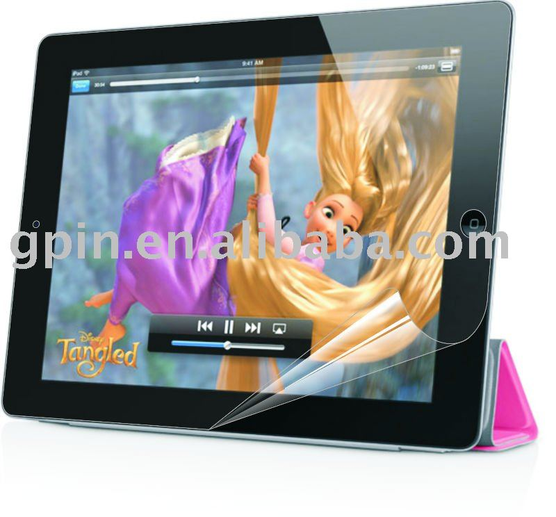 Ultra transparency Screen Protector for iPad 2