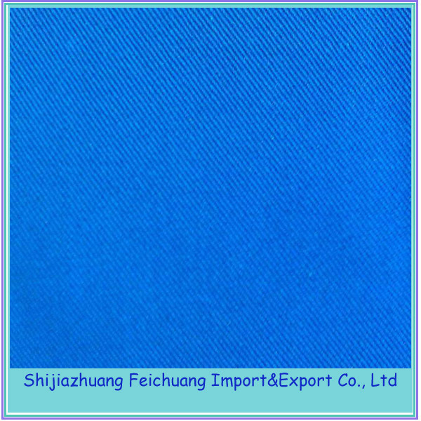 China supply 100% cotton EN11612 anti fire fabric for garment