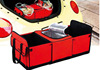 600D/PVC 170T pu folding car auto cooler trunk organizer