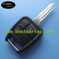 Topbest 3 buttons car key shell with right blade with light keys fake car key
