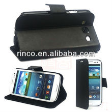 Leather Case Cover Skin with standing for Samsung Galaxy S3 S III 3 i9300 case
