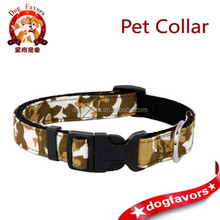 pet collars dog collar colorful series 2.0 cm camouflage nylon buckle neck strap