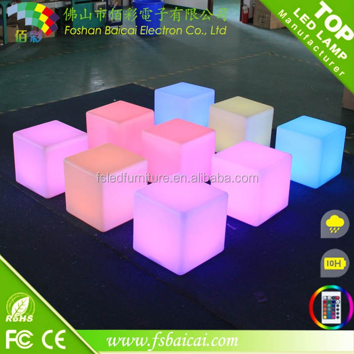 50cm Table LED Cube Light