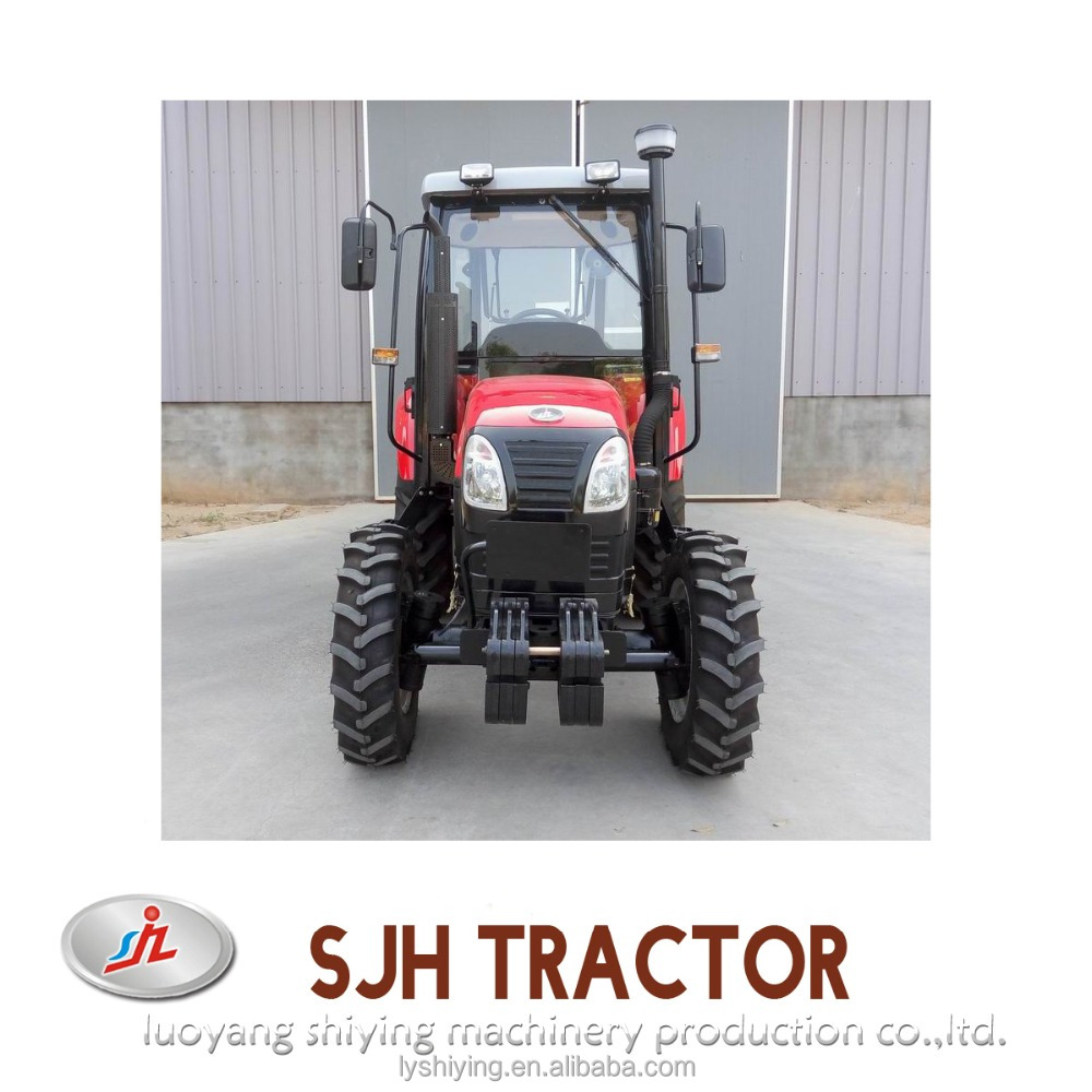 fiat new holland 640 tractor with backhoe