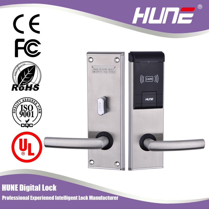 hotel smart chip card door lock system