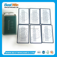 adult game playing cards,game card printing service