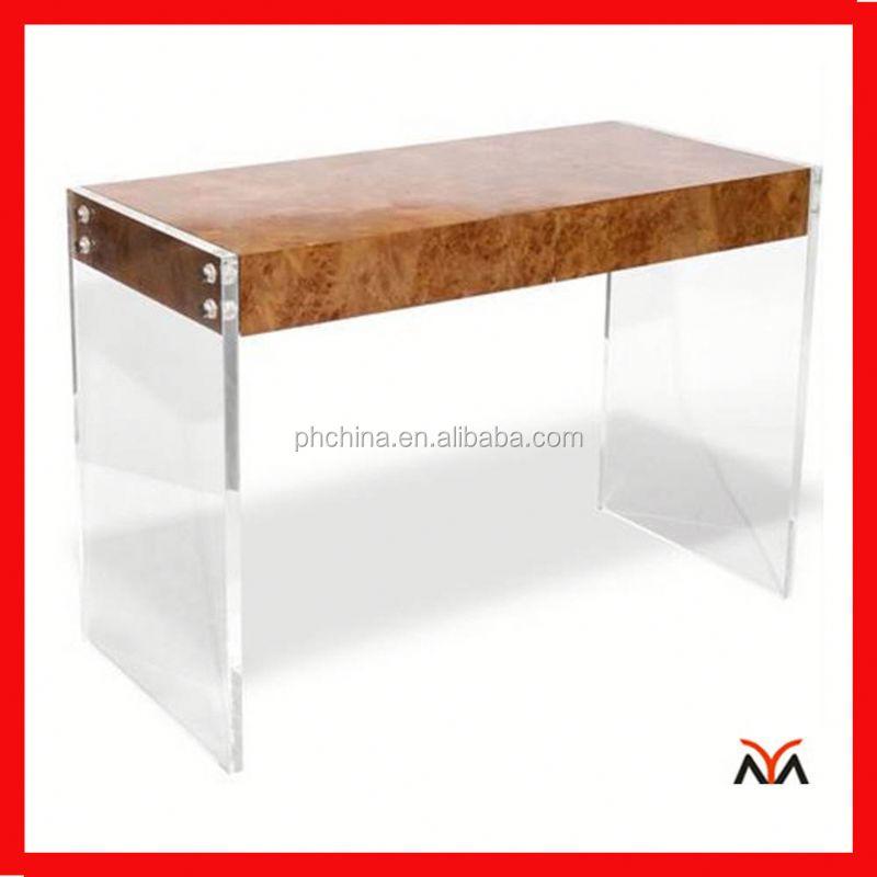 acrylic lucite bench