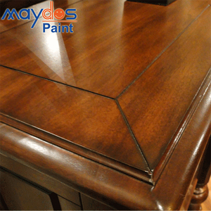 Asian Brand High Glossy Clear Polyurethane Wood Plastic Varnish