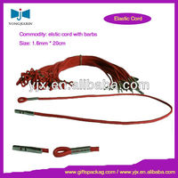Red Elastic Cord with Clasp for Face Mask