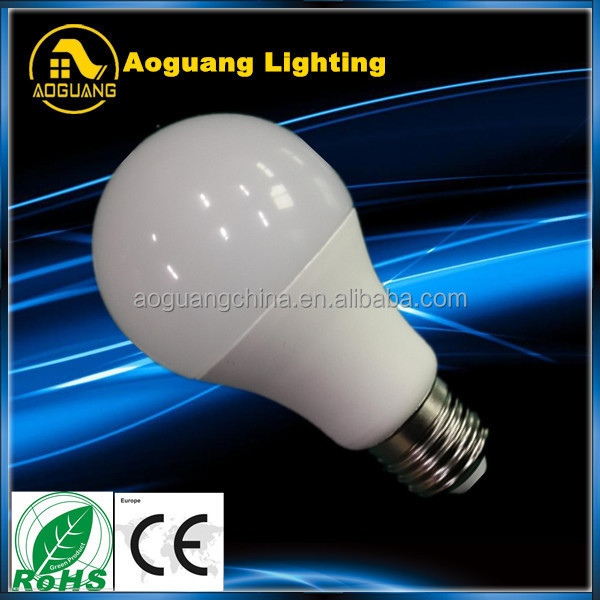 A60 CRI> 80 240 beam angle SMD e27 led lighting bulb