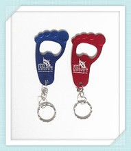spring keychain with good quality metal hook