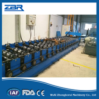 Steel Interior Wall Tile Roller , Floor Panel Roll Forming Machine