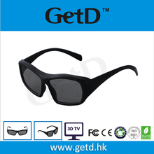 Passive Circular Polarized Disposable Low Price Plastic 3D Glasses 3D Glasses for Cinema or Passive 3D TV